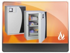 FIRE-RESISTANT SAFES  FOR DIGITAL MEDIA